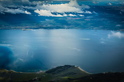Vista aérea da Cordilheira dos Andes próximo a cidade de Ushuaia, conhecida como Fim do Mundo. FOTO: Jefferson Bernardes/ Agência Preview