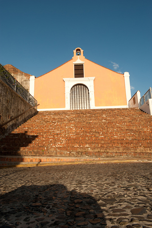 20110326-San German, Puerto Rico- Iglesia Porta Coeli en el pueblo de San German.  Porta Coeli Church in San German.