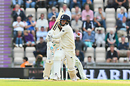 Wicket - Sam Curran of England is bowled by Ravichandran Ashwin of India during the first day of the 4th SpecSavers International Test Match 2018 match between England and India at the Ageas Bowl, Southampton, United Kingdom on 30 August 2018.