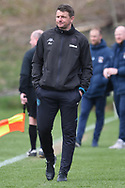 Leeds United dual coach Mark Jackson during the U18 Professional Development League match between Coventry City and Leeds United at Alan Higgins Centre, Coventry, United Kingdom on 13 April 2019.