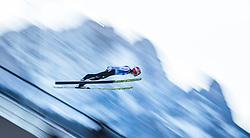 31.12.2016, Olympiaschanze, Garmisch Partenkirchen, GER, FIS Weltcup Ski Sprung, Vierschanzentournee, Garmisch Partenkirchen, Qualifikation, im Bild Markus Eisenbichler (GER) // Markus Eisenbichler of Germany during his Qualification Jump for the Four Hills Tournament of FIS Ski Jumping World Cup at the Olympiaschanze in Garmisch Partenkirchen, Germany on 2016/12/31. EXPA Pictures © 2016, PhotoCredit: EXPA/ JFK
