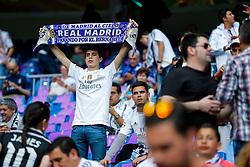 Real Madrid fans - Mandatory byline: Rogan Thomson/JMP - 04/05/2016 - FOOTBALL - Santiago Bernabeu Stadium - Madrid, Spain - Real Madrid v Manchester City - UEFA Champions League Semi Finals: Second Leg.