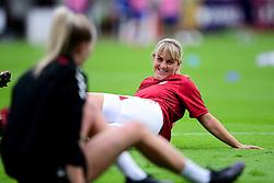 Bristol City Women warm up prior to kick off - Mandatory by-line: Ryan Hiscott/JMP - 06/09/2020 - FOOTBALL - Twerton Park - Bath, England - Bristol City Women v Everton Ladies - FA Women's Super League
