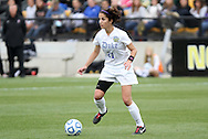 04 December 2011: Duke's Gilda Doria. The Stanford University Cardinal defeated the Duke University Blue Devils 1-0 at KSU Soccer Stadium in Kennesaw, Georgia in the NCAA Division I Women's Soccer College Cup Final.