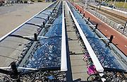 Overdekte fietsenstalling bij P&R en station Ypenburg, Den Haag
