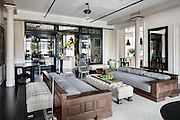 "EXCLUSIVE<br /> Meg Ryan home – her US$10.9 million Soho loft - <br /> <br /> Fifteen years ago actress Meg Ryan attended a party in a New York loft, almost four years ago she bought it, and now, after completely gutting and remodelling it, she is selling it for US$10.9 million.<br /> <br /> Meg, the ""When Harry Met Sally"" star, had moved to New York from California after her divorce from actor Dennis Quaid. After first living in 5 rented properties with her daughter Daisy, she decided she needed a permanent home.<br /> <br /> As soon as she stepped into the 380 sq.m loft while house hunting, she remembered being at a party there. ""It was all quite different back then, and the space had been through many eras,"" she recalls. At one point the former button factory had been a photo studio. ""When I had visited all those years ago, I was amazed by the volume. It was like so much of New York: cinematic. That's what attracted me.""<br /> <br /> She bought the loft from ""The Simpsons"" actor Hank Azaria, and set about renovating it – the ninth property she has redecorated. She gave it a major face lift. Now, a black and white colour scheme dominates the three bedroom, three bathroom property. <br /> <br /> The home's entrance features a 12 metre long gallery flooded with light from 5 huge windows (the loft features 13 oversized windows in total) and featuring several original architectural columns. Floor-to-ceiling French doors lead into the living room with its high ceilings, ebony wood floors and a decorative fireplace.<br /> The home also features a large eat-in kitchen, illuminated with lights Meg found in a salvage shop in Maine, a media room, a butler's pantry and a laundry room. The master bedroom has no less than eight closets and a free-standing bathtub in the ensuite bathroom.<br /> <br /> ""I love renovating,"" says Meg. ""I think it's tied to living the actor's life. As an actor, you are so rarely in control. You're always saying words that someone else has given you. But with decorating I am in control; it's"