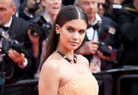 Sara Sampaio at the Once Upon A Time... In Holywood gala screening at the 72nd Cannes Film Festival Tuesday 21st May 2019, Cannes, France. Photo credit: Doreen Kennedy