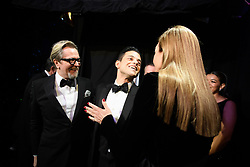 Rami Malek poses backstage with the Oscar® for performance by an actor in a leading role with Gary Oldman and Allison Janney during the live ABC Telecast of The 91st Oscars® at the Dolby® Theatre in Hollywood, CA on Sunday, February 24, 2019.