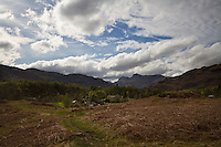 Langdale Valley Landscape, Lake District, Cumbria, UK