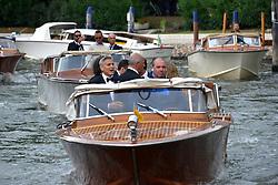 "74th Venice Film Festival, Red Carpet ""Suburbicon"". George Clooney, Amal Clooney, Matt Damon, Julianne Moore. 02 Sep 2017 Pictured: George Clooney. Photo credit: KILPIN / MEGA TheMegaAgency.com +1 888 505 6342"