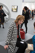 JULIA PEYTON-JONES, The VIP preview of Frieze. Regent's Park. London. 16 October 2013