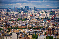 Montmartre & La Défense Skyline