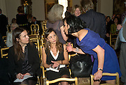 GIORGIA ORLANDI, TITTI MASTROGIACOMO AND NANCY DELL'OLIO. Launch of  'My Beautiful Game' by Nancy Dell'Olio<br />hosted by The Italian Ambassador and Signora Aragona  Thursday, 17 April 2008. at 4 Grosvenor Square, London W1. 17 April 2008. <br /> *** Local Caption *** -DO NOT ARCHIVE-© Copyright Photograph by Dafydd Jones. 248 Clapham Rd. London SW9 0PZ. Tel 0207 820 0771. www.dafjones.com.