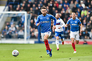 Portsmouth Midfielder, Ben Close (33) during the EFL Sky Bet League 1 match between Portsmouth and Rochdale at Fratton Park, Portsmouth, England on 13 April 2019.