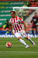New signing Xherdan Shaqiri of Stoke City in action. Barclays Premier League match, Stoke city v West Bromwich Albion at the Britannia stadium in Stoke on Trent, Staffs on Saturday 29th August 2015.<br /> pic by Chris Stading, Andrew Orchard sports photography.