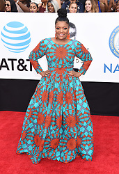 Annie Ilonzeh at the 49th NAACP Image Awards held at the Pasadena Civic Auditorium on January 15, 2018 in Pasadena, CA ©TArroyo/AFF-USA.com. 15 Jan 2018 Pictured: Yvette Nicole Brown. Photo credit: MEGA TheMegaAgency.com +1 888 505 6342