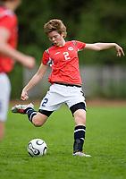 June Holter. Norway-Sweden, WU17 Four Nation's Tournament. Eerikkilä, Finland, 25.5.2007. Photo: Jussi Eskola