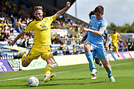 Oxford United midfielder James Henry (17)  looks to cross the ball during the EFL Sky Bet League 1 match between Oxford United and Coventry City at the Kassam Stadium, Oxford, England on 9 September 2018.