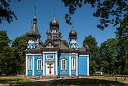 Litwa. Druskienniki. Zabytkowa cerkiew
