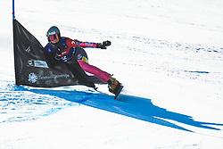 Selina Joerg (GER) during parallel giant slalom FIS Snowboard Alpine world championships 2021 on 1st of March 2021 on Rogla, Slovenia, Slovenia. Photo by Grega Valancic / Sportida