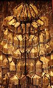 Stalaktitnische Egypt 14-15 century Stuck plated, on wood.