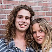 NLD/Amsterdam/20180917 - Uitreiking de Gouden Notenkraker 2018, Lucas Hamming en partner