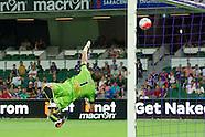 Perth Glory vs Adelaide Jan 2016