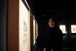 Press tour of the Herge exhibition at the Grand Palais in Paris, France, September 26, 2016. Photo by Eliot Blondet/ABACAPRESS.COM