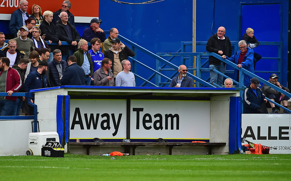 A general view of Moss Rose home of Macclesfield Town FC<br /> <br /> Photographer Andrew Vaughan/CameraSport<br /> <br /> The EFL Sky Bet League One - Macclesfield Town v Lincoln City - Saturday 15th September 2018 - Moss Rose - Macclesfield<br /> <br /> World Copyright © 2018 CameraSport. All rights reserved. 43 Linden Ave. Countesthorpe. Leicester. England. LE8 5PG - Tel: +44 (0) 116 277 4147 - admin@camerasport.com - www.camerasport.com