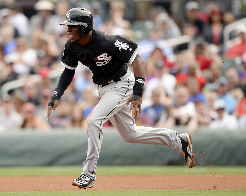 SCOTTSDALE, ARIZONA - MARCH 05:  Tim Anderson #7 of the Chicago White Sox runs the bases during the spring training game against the Arizona Diamondbacks on March 5, 2017 at Salt River Fields at Talking Stick in Scottsdale, Arizona.  (Photo by Ron Vesely)   Subject:  Tim Anderson