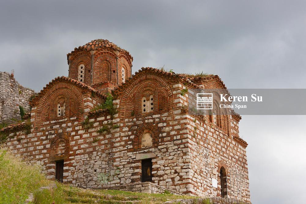 Holy Trinity Church in Berat Castle, Berat (UNESCO World Heritage site), Albania