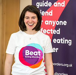 Pictured: Constance Barter, BEAT young ambassador<br /> Today Mental Health Minister Maureen Watt vsiisted the Royal Hospital in Edinburgh to help aunch the online resource aimed at young people in this Eating Disorders Awareness Week, While thee she met two two Beat ambassadors, Constance Barter and Ballari Conner<br /> <br /> Ger Harley   EEm 28 Fbruary 2018
