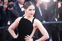 Actress Araya A. Hargate at the gala screening for the film Mal De Pierres (From the Land of the Moon) at the 69th Cannes Film Festival, Sunday 15th May 2016, Cannes, France. Photography: Doreen Kennedy