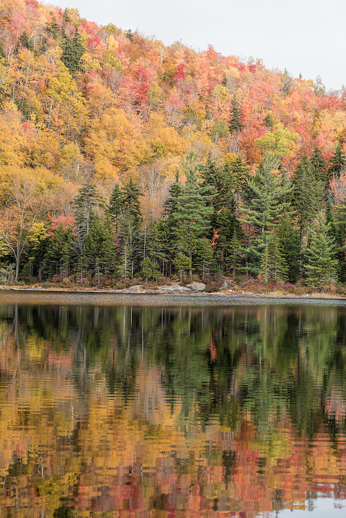 Little Rock Pond in Vermont's Green Mountains.