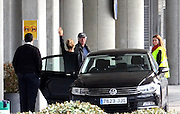 MADRID, SPAIN, 2016, MARCH 10 <br /> <br /> Richard Gere says goodbye to Alejandra Silva in the airport, after the short visit to Spain, to have some couple moments together. Alejandra was seen very sad when saying goodbye to her boyfriend<br /> ©Exclusivepix Media