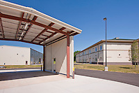 Fort Detrick Maryland Exterior.Photography of the Armed Forces Reserve Center by building photographer Jeffrey Sauers of Commercial Photographics, Construction by Harkins Builders, Inc.