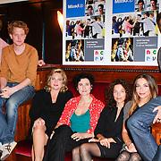NLD/Amsterdam/20111103- Perspresentatie NCRV TV serie Mixed Up, Tamar van den Dop, Paula van der Oest, Anneke Blok, Viggo Waas, Pepijn Schoneveld, Georgina Verbaan en Waldemar Torenstra