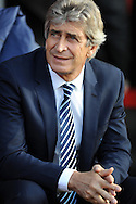 Manchester City manager Manuel Pellegrini<br />  - Barclays Premier League - Southampton vs Manchester City - St Mary's Stadium - Southampton - England - 30th November 2014 - Pic Robin Parker/Sportimage