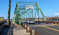 Delaware River -- Flood Stage. Lambertville New Hope Bridge. Image taken with a Leica D-Lux 5 (ISO 100, 7.5 mm, f/4, 1/800 sec).