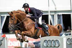 Van Erp Jarno, (NED), Al Capone<br /> Nederlands kampioenschap springen - Mierlo 2016<br /> © Hippo Foto - Dirk Caremans<br /> 21/04/16