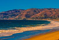 Point Dume beach, Malibu (Los Angeles), California USA.