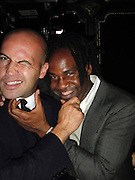 Billy Zane and Unik..Black Eyed Peas Launch of The Exclusive Deluxe Version of E.N.D..The Griffin Night Club..New York, NY, USA..Wednesday, June 10, 2009..Photo By Celebrityvibe.com..To license this image please call (212) 410 5354; or Email: celebrityvibe@gmail.com ; .website: www.celebrityvibe.com.