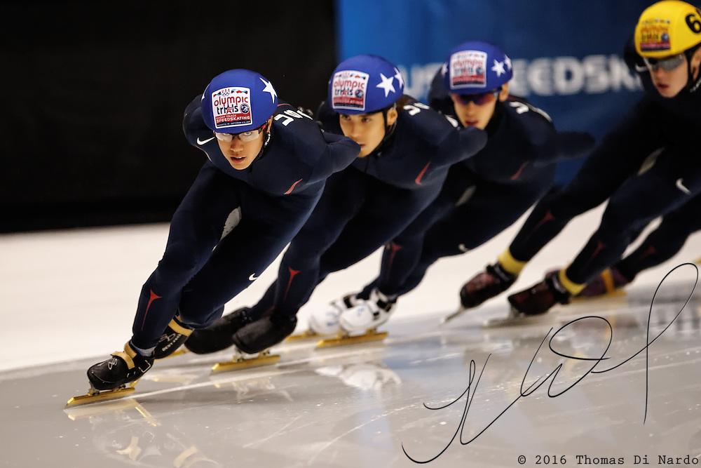 September 11, 2009, Marquette, MI - 2010 US Olympic Team Trials for Short Track Speedskating