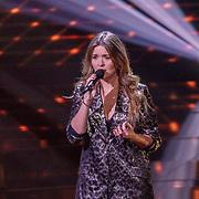 NLD/Hilversum/20190201- TVOH 2019 1e liveshow, Sanne de Winter optreden