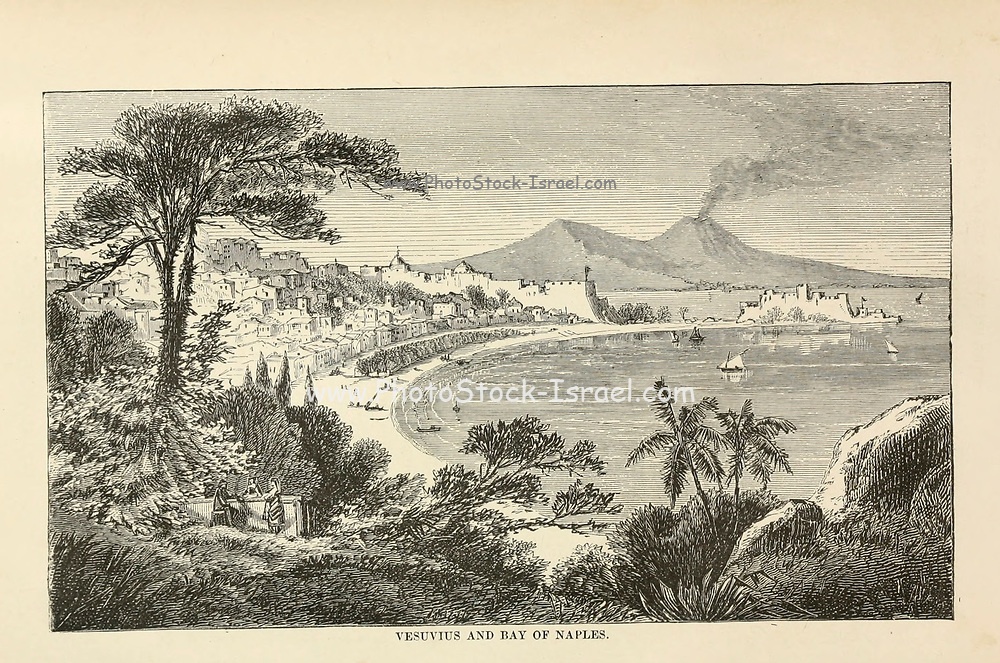 Vesuvius and the Bay of Naples from the book Sights and sensations in Europe : sketches of travel and adventure in England, Ireland, France, Spain, Portugal, Germany, Switzerland, Italy, Austria, Poland, Hungary, Holland, and Belgium : with an account of the places and persons prominent in the Franco-German war by Browne, Junius Henri, 1833-1902 Published by Hartford, Conn. : American Pub. Co. ; San Francisco, in 1871