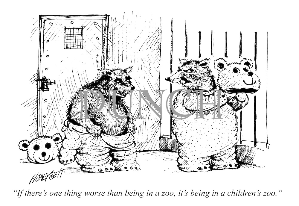 """""""If there's one thing worse than being in a zoo, it's being in a children's zoo."""""""