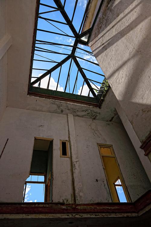 Spa interior in San Miguel de los Banos, Matanzas, Cuba.