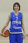DESCRIZIONE : Roma Acqua Acetosa ritiro collegiale amichevole Nazionale Italia Donne<br /> GIOCATORE : Virgina Galbiati<br /> CATEGORIA : ritratto<br /> SQUADRA : Nazionale Italia femminile donne FIP<br /> EVENTO : amichevole Italia A Italia B<br /> GARA : <br /> DATA : 17/01/2012<br /> SPORT : Pallacanestro<br /> AUTORE : Agenzia Ciamillo-Castoria/ElioCastoria<br /> Galleria : Fip Nazionali 2011 <br /> Fotonotizia : Roma Acqua Acetosa ritiro collegiale amichevole Nazionale Italia Donne