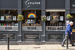 Pubs are looking forward to reopening with several now providing a carry out service.  Pubs have to prepare for the return to being busy. Aviators in Causewayside, Newington, Edinburgh are supporting the NHS but also preparing for the return to normal business.