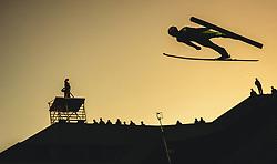 29.09.2018, Energie AG Skisprung Arena, Hinzenbach, AUT, FIS Ski Sprung, Sommer Grand Prix, Hinzenbach, im Bild Roman Koudelka (CZE) // Roman Koudelka of Czech Republic during FIS Ski Jumping Summer Grand Prix at the Energie AG Skisprung Arena, Hinzenbach, Austria on 2018/09/29. EXPA Pictures © 2018, PhotoCredit: EXPA/ JFK